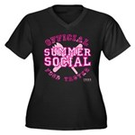 OFFICIAL SUMMER SOCIAL FOOD T Women's Plus Size V-