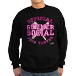 OFFICIAL SUMMER SOCIAL FOOD T Sweatshirt (dark)