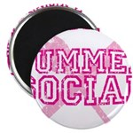 OFFICIAL SUMMER SOCIAL FOOD T Magnet
