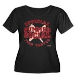 OFFICIAL SUMMER SOCIAL FOOD T Women's Plus Size Sc