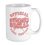 OFFICIAL SUMMER SOCIAL FOOD T Large Mug