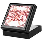 OFFICIAL SUMMER SOCIAL FOOD T Keepsake Box