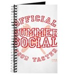 OFFICIAL SUMMER SOCIAL FOOD T Journal