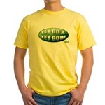 Let Go GREEN Yellow T-Shirt