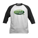 Let Go GREEN Kids Baseball Jersey