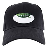 Let Go GREEN Black Cap