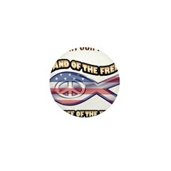 SUPPORT OUR TROOPS! Mini Button