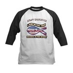 ARMY DAUGHTER Kids Baseball Jersey