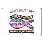 ARMY DAUGHTER Banner