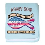 Army Son baby blanket