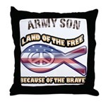 Army Son Throw Pillow