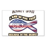 Army Son Sticker (Rectangle 50 pk)