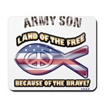 Army Son Mousepad