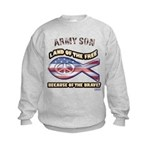 Army Son Kids Sweatshirt