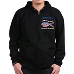 Airforce Aunt Zip Hoodie (dark)