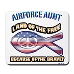 Airforce Aunt Mousepad