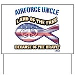 Airforce Uncle Yard Sign