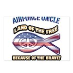 Airforce Uncle Postcards (Package of 8)