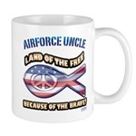 Airforce Uncle Mug