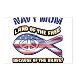 Navy Mom Postcards (Package of 8)
