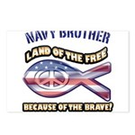 Navy Brother Postcards (Package of 8)