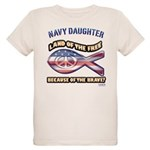 Navy Daughter Organic Kids T-Shirt