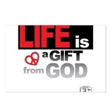 Life... GIFT from GOD Postcards (Package of 8)