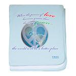 Power of Love baby blanket