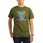 Power of Love Organic Men's T-Shirt (dark)