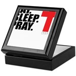 Eat. Sleep. Pray. Keepsake Box