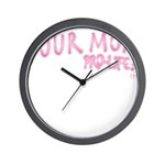 Was Your Mom... Wall Clock