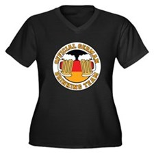 Official German Drinking Team Women's Plus Size V-