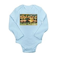 York and Adams Long Sleeve Infant Bodysuit