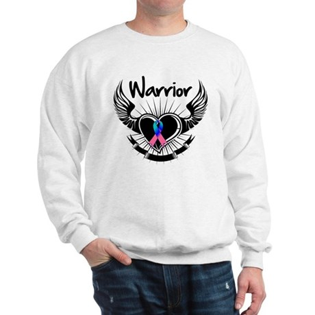 Warrior Thyroid Cancer Sweatshirt
