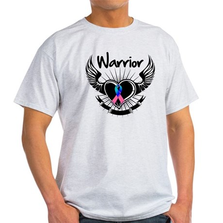 Warrior Thyroid Cancer Light T-Shirt