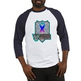 Survivor - Thyroid Cancer Baseball Jersey