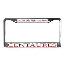 1st Bn 6th Artillery License Plate Frame