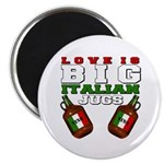 "Love is Big Italian Jugs 2.25"" Magnet (10 pack)"