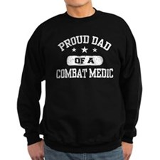 Proud Combat Medic Dad Jumper Sweater
