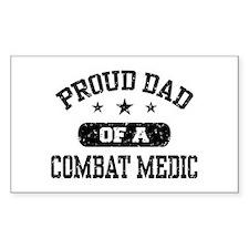 Proud Combat Medic Dad Decal