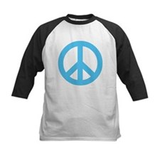 Blue Peace Sign Tee