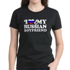 I Love My Russian Boyfriend Tee