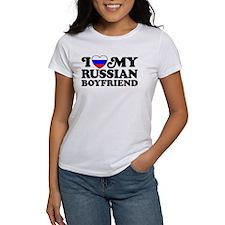I Love My Russian Boyfriend Tee