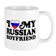 I Love My Russian Boyfriend Mug