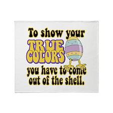 True Colors Throw Blanket
