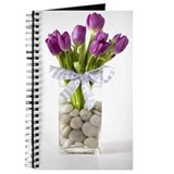 Spring Purple Tulip Journal