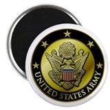 Army Black Logo Magnet