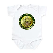 Army Green Logo Onesie