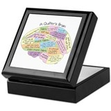 Quilter's Brain Keepsake Box