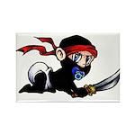 Ninja Baby Rectangle Magnet (100 pack)